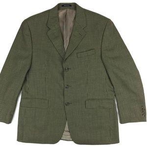 Polo University Club Wool Blazer Size 42R Tan Sz